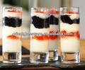 Verre clair dessert, en verrine