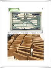 negative-pressure cooling ventilative exhaust fan air cooler system