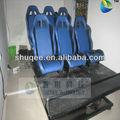 colorido 7d cinema 6 dof cadeira 7d máquina de jogo simulador de assento para venda