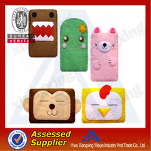All kinds animal shape mobile phone silicon case made in China