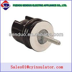 low voltage ceramic screw insulator 802 electrical wire insulation
