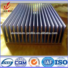 vendita calda certificato iso serie 6000 tubo di alluminio per il radiatore