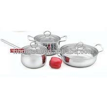 2014 Kitchenware environmental unique design cookware non-stick frying pan set SW-0506