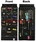 39 pocket dress fabric hanging jewelry organizer