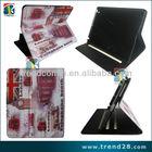 ebay alibaba beautiful image kickstand design PU smart case for ipad 3