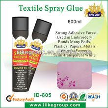 kingjoin temperary non-toxic spray adhesive for clothing