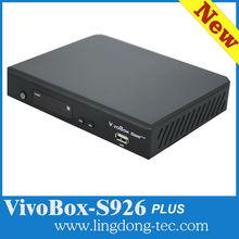 New digital satellite receiver DVB-S2 vivobox S926 plus work good than AZamerica s1001