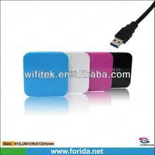 Private Mould Square Shape USB3.0 4 port usb hub