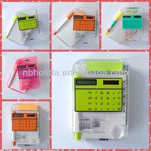 Note book calculator,calendar,pen,ruler/HLD818