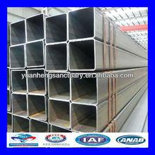 tipi di pre zincato vasca quadrata in acciaio