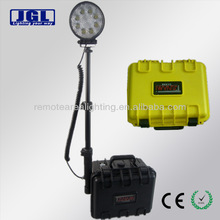 rechargeable agricultural equipment handheld spotlight 12V 24W LED emergency portable handy remote work light