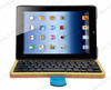 PU leather bluetooth stand holder case for iPad mini keyboard leather case