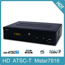 Hd Digital Tv Converter Set Top Box Hdmi Decoder Atsc Tuner