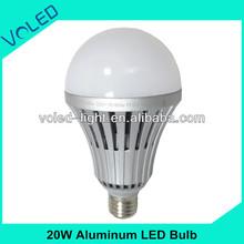 20W E27 Led Bulb Lighting CE ROHS FCC LVD UL Die casting Aluminum High Power E27 LED Bulb