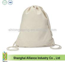 Cotton Drawstring Bags 8oz Unbleached Natural Cotton