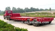 manufacturers lowboy atv wood cargo platform trailer