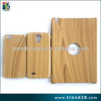 wholesale accessories wood pattern PC slim case for ipad mini2