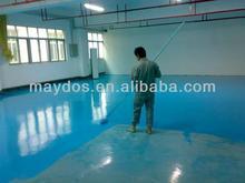 Maydos Self Leveling Anti Dust Epoxy Resin Concrete warehouse Flooring Painting coating(China Floor Paint/Maydos Paint)