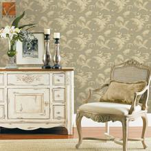 Embossed heavy pvc wallpaper Italian design wallcoverings for sitting rooms