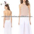 manufactory de verão mulheres halterneck novo modelo de blusa