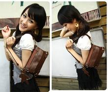 Fashion women's shoulder bags Designer Satchel PU leather Small Folding bag handbags 4178
