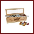 Vintage handmade wooden chocolate crate chocolate gift box