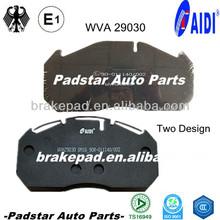 auto slack adjuster haldex volvo semi truck parts racing petrol go karts truck parts 29030 hi-q spare disc C.V. brake pad