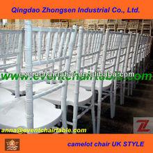 pure white UK style chiavari chair / camelot chiavari chair