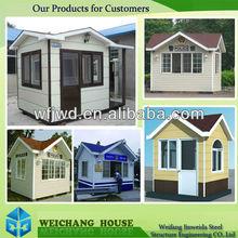 Wecheer Modular Houses Used as Kiosk/Toilet/Bathroom/Entrance Guard