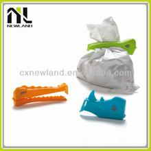 New design Funny Animal Jungle Eco-friendly plastic clips clamps