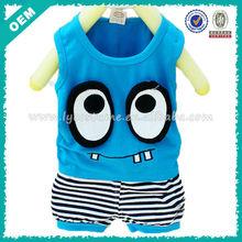 Big Eyes Pattern Baby T Shirts Cute Style (lyt-060017)