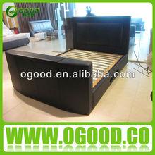 Modern Home Furniture Bunk Bed/TV Bed/Tufted Bed Set OB016