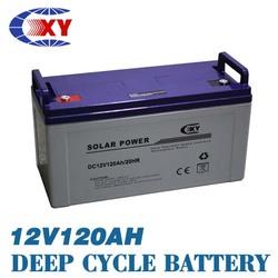 12v 120AH Solar battery AGM/VRLA lead acid battery 12v120ah for Electric starting