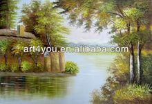 Frameless modern canvas printing painting