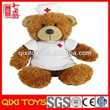 teddy bear plush nurse bear toy