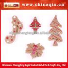 2014 new product glitter styrofoam christmas ornaments