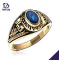 cz azul de graduación de la universidad de psicología singular anillos militares