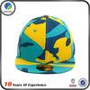multi color unique whole flat bill suede 3d oem snapback hat