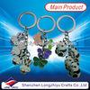 Cheap custom promotion key chain string doll