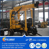 Automatic portable water well drilling machine