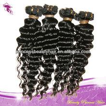 Mongolian deep curl hair weave manufacturing