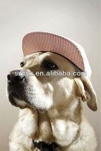 2014 moda beyzbol kapaklar için köpek hayvan düz fatura kapağı sanpback özel baskılı logo köpekler ve Evcil