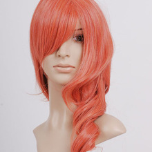 Fashion Long Red Cosplay Wavy Wigs For Sale