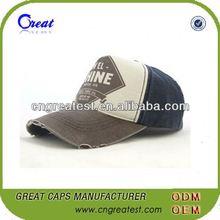 Hot Selling Classy Mens Leather Baseball Cap