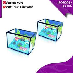 small aquarium tank,coffee aquarium fish,LED fish tank
