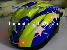 warm light Flash led safety helmet