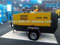 atlas copco 58kw 7 bar industrial diesel compresor de aire portátil