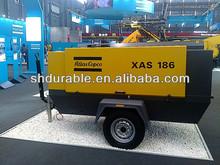 Atlas Copco 58KW 7Bar Diesel Industrial Portable air compressor
