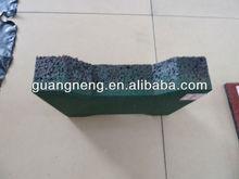 Outdoor rubber floor tiles/ playground rubber tiles/ kindergarten rubber floor mat