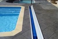 Indoor Waterproof Rigid / Slat Swimming Pool bubble Cover